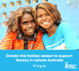 Donate this season to support literacy in remote Australia