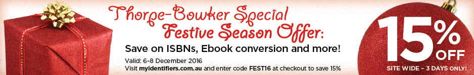 Thorpe-Bowker Special Festive Season Offer