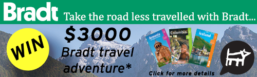 Image. Advertisement: Take the road less travelled with Brandt