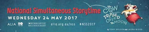 Image. Advertisement: National Simultaneous Storytime