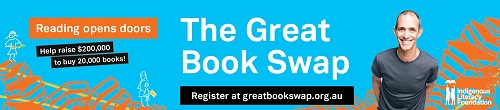 Image. Advertisement: The Great Book Swap