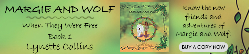 Image. Advertisement: Margie and Wolf