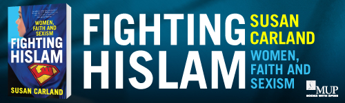 Image. Advertisement: Fighting Hislam: Women, Faith and Sexism by Susan Carland