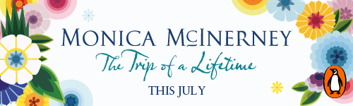 Image. Advertisement: Monica McInerney: The Trip of a Lifetime