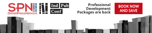 Image. Advertisement: SPN Ind Pub Conf: Professional Development Packages are back. Book now and save.