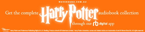 Image. Advertisement: Get the complete Harry Potter audiobook collection through our digital app.