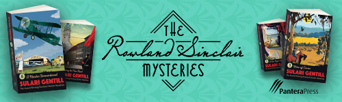 Image. Advertisement: The Rowland Sinclair Mysteries