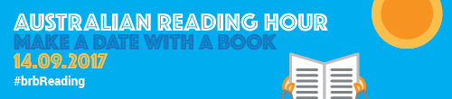 Image. Advertisement: Australian Reading Hour: Make a date with a book