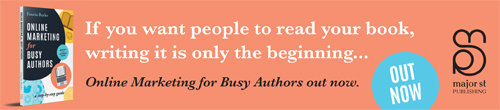 Image. Advertisement: If you want people to read your book, writing it is only the beginning ...