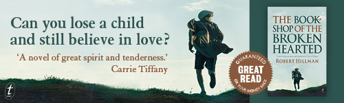 Image. Advertisement: Can you lose a child and still believe in love?