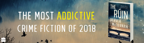 Image. Advertisement: The most addictive crime fiction of 2018. The Ruin.