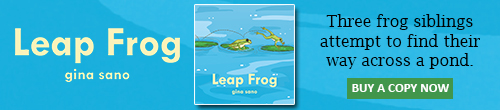 Image. Advertisement: Leap Frog by Gina Sano