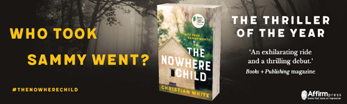 Image. Advertisement: The Nowhere Child