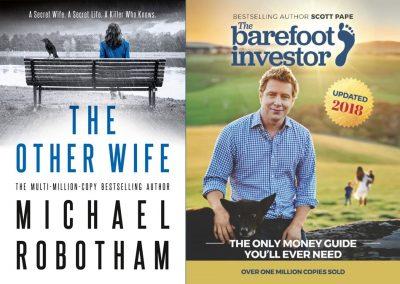 best selling non fiction books 2018 australia