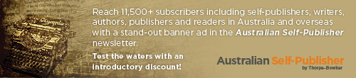 Image. Advertisement: The Australian Self-Publisher