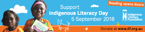 Image. Advertisement: Indigenous Literacy Day