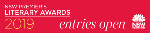 Image. Advertisement: NSW Premier's Literary Award Entries Open