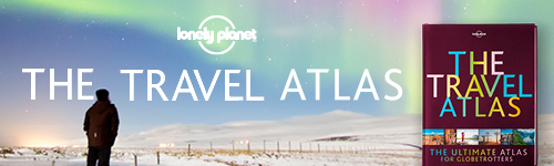 Image. Advertisement: The Travel Atlas