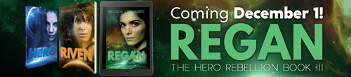 Image. Advertisement: Regan: The Hero Rebellion Book II