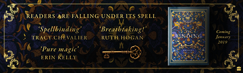 Image. Advertisement: The Binding