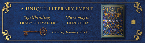 Image. Advertisement: A Unique Literary Event. The Binding