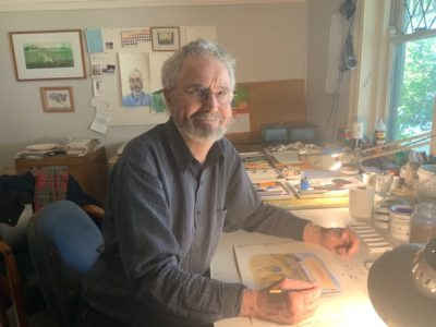 Andrew McLean – inaugural recipient – Albert Ullin Award